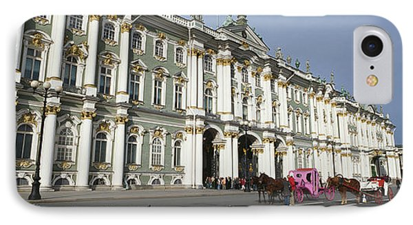 Museum Along A Road, State Hermitage IPhone Case by Panoramic Images