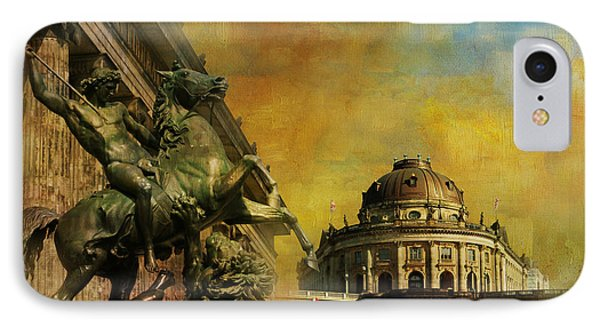 Museum Island IPhone Case by Catf