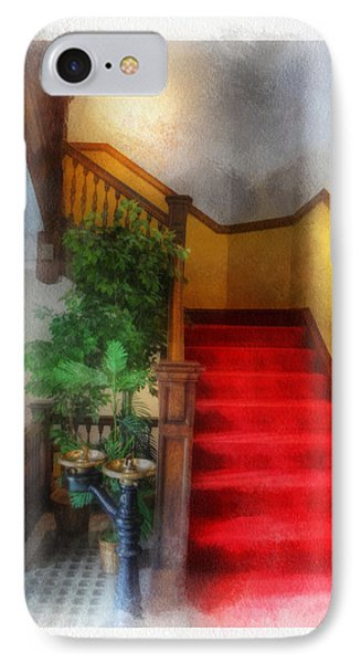 Museum Stairs IPhone Case
