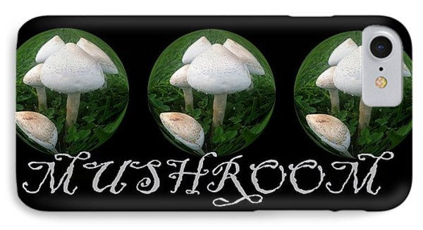 Mushroom Art Collection 2 By Saribelle Rodriguez IPhone Case by Saribelle Rodriguez