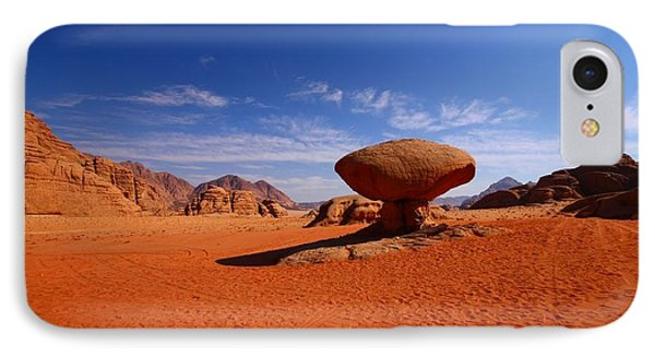 Mushroom Rock IPhone Case by FireFlux Studios