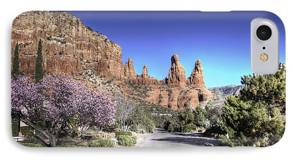 IPhone Case featuring the photograph Mushroom Rock by Lynn Geoffroy