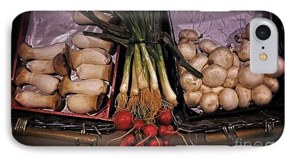 Mushrooms In The Seville Market  Phone Case by Mary Machare