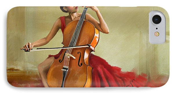 Music And Beauty Phone Case by Corporate Art Task Force