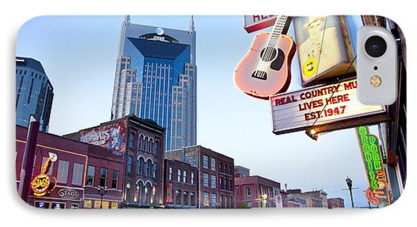 Music City Usa IPhone Case