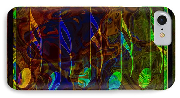 Music Is Magical Abstract Healing Art IPhone Case