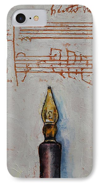 Music Phone Case by Michael Creese
