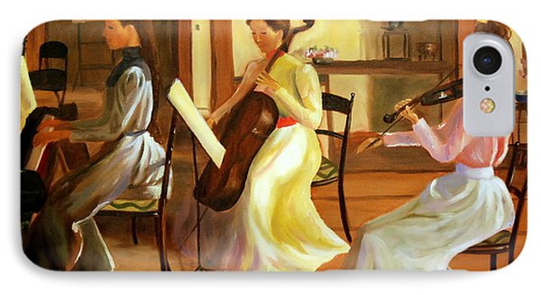 Music Room After Lilla Cabot Perry IPhone Case