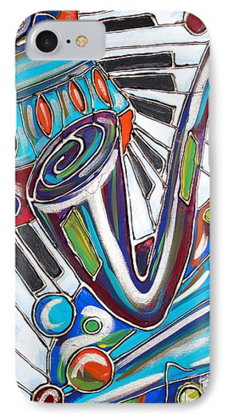 Music Time 2 IPhone Case by Cynthia Snyder