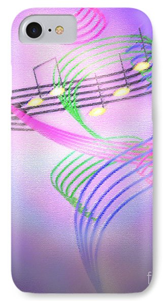 IPhone Case featuring the digital art Musical Alchemy by Dee Davis