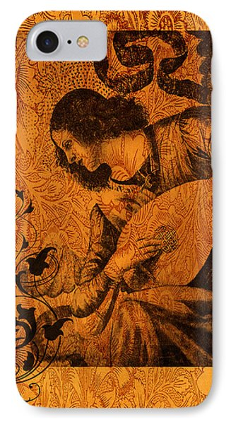 Musical Angel IPhone Case by Sarah Vernon