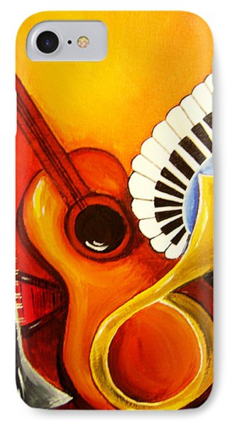 Musical Instruments Phone Case by Rajni A