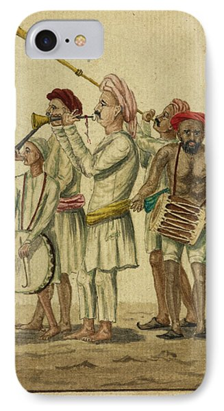Musical Instruments Used At Processions IPhone Case by British Library