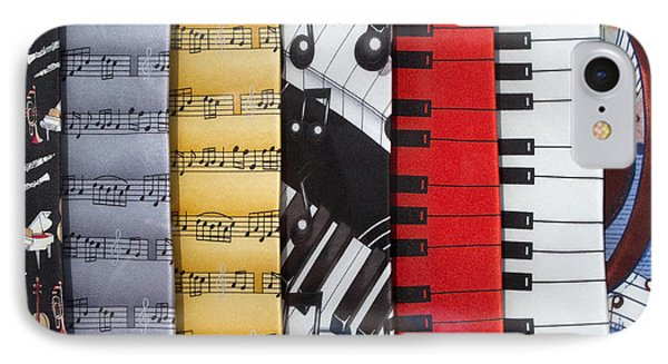 Musical Motifs Phone Case by Ann Horn