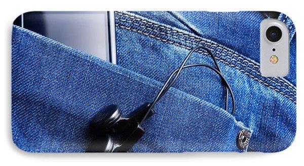 Musical Pocket IPhone Case by Sinisa Botas