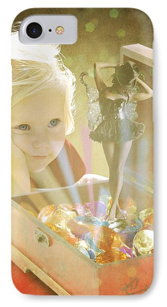 Musicbox Magic IPhone Case by Linda Lees