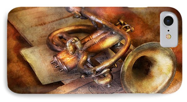 Musician - Horn - Toot My Horn Phone Case by Mike Savad