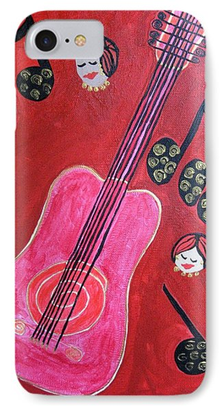 Musique Rouge Phone Case by Clarissa Burton