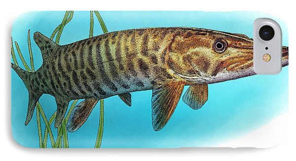 Muskellunge IPhone Case by Roger Hall