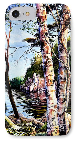 Muskoka Reflections Phone Case by Hanne Lore Koehler