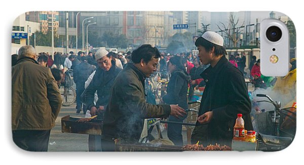 Muslim Chinese Uyghur Minority Food IPhone Case by Panoramic Images