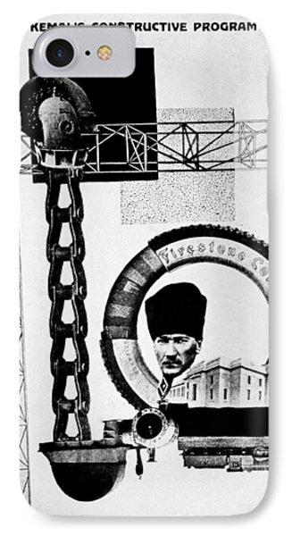 Mustafa Kemal Ataturk (1881-1938) IPhone Case