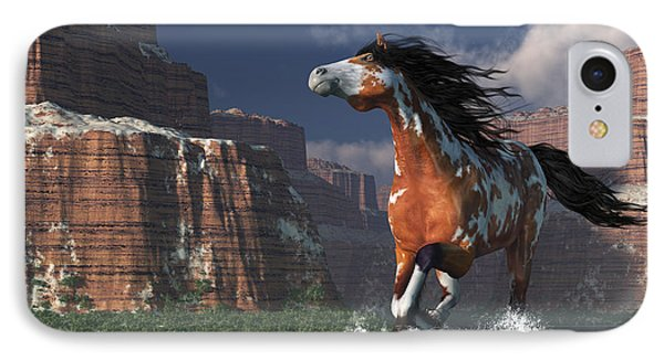 Mustang Canyon IPhone Case by Daniel Eskridge
