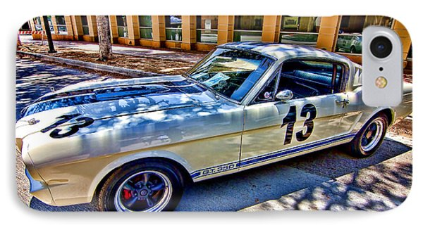 IPhone Case featuring the photograph Mustang Gt 350 by Jason Abando