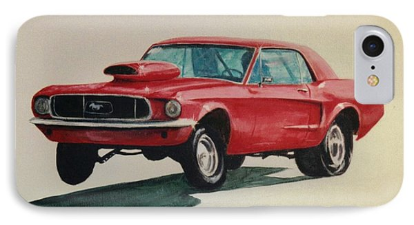 Mustang Launch IPhone Case by Stacy C Bottoms
