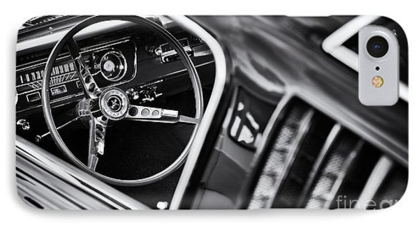 Mustang Monochrome IPhone Case by Tim Gainey