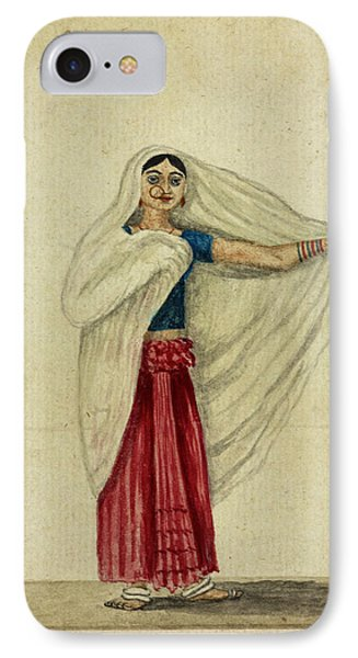 Musulmanee Dancing-girl IPhone Case by British Library
