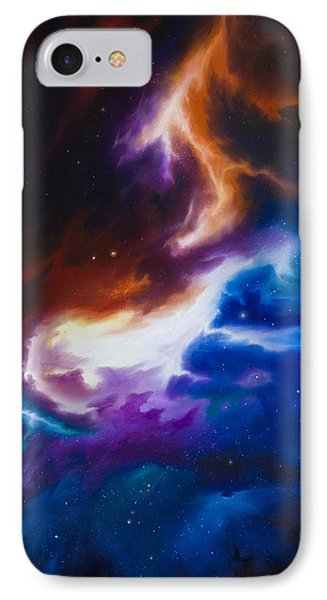 Mutara Nebula Phone Case by James Christopher Hill