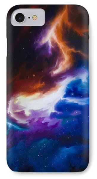 Mutara Nebula IPhone Case by James Christopher Hill