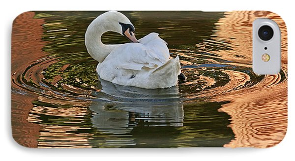 IPhone Case featuring the photograph Preening by Kate Brown