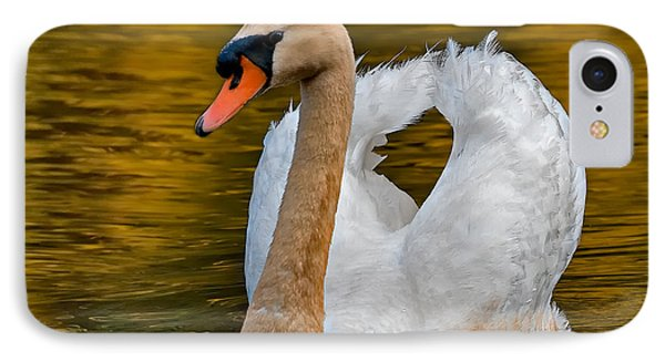 Mute Swan IPhone Case by Susan Candelario