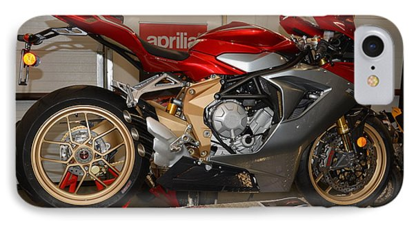 IPhone Case featuring the photograph Mv Agusta by Lawrence Christopher