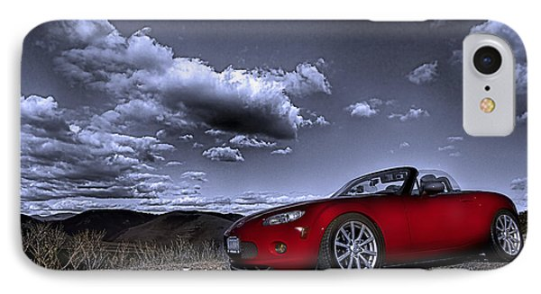 IPhone Case featuring the photograph Mx 5 by Jason Abando