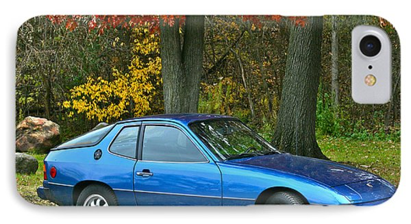 IPhone Case featuring the photograph My 1977 Porsche 924 by Joan McArthur