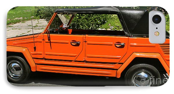 My '73 Vw Thing IPhone Case by Joan McArthur
