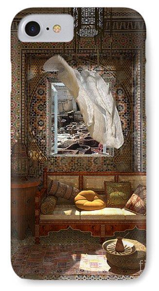 My Art In The Interior Decoration - Morocco - Elena Yakubovich IPhone Case by Elena Yakubovich