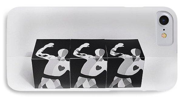 My Bauhaus Harlequin Phone Case by Charles Stuart