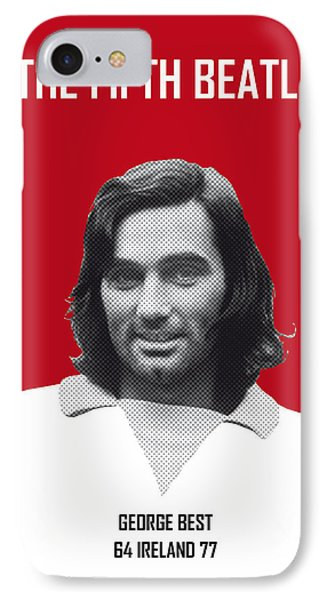 My Best Soccer Legend Poster IPhone Case by Chungkong Art