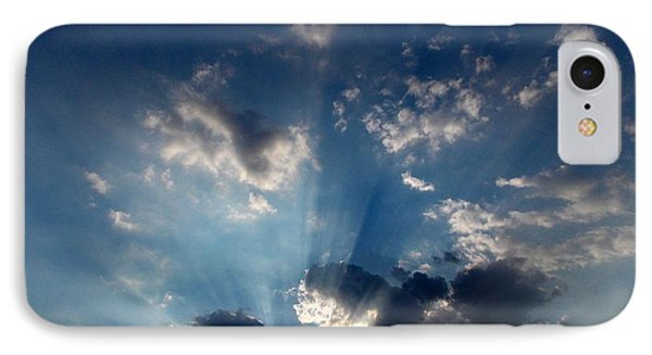 IPhone Case featuring the photograph My Blue Heaven by Carolyn Repka