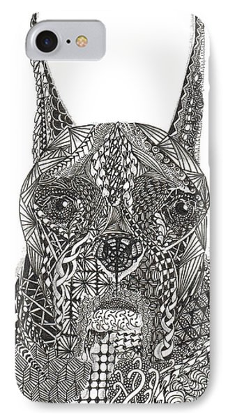 My Buddy - Boxer Phone Case by Dianne Ferrer