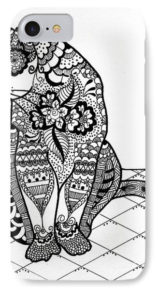 My Cat IPhone Case by Lamarr Kramer