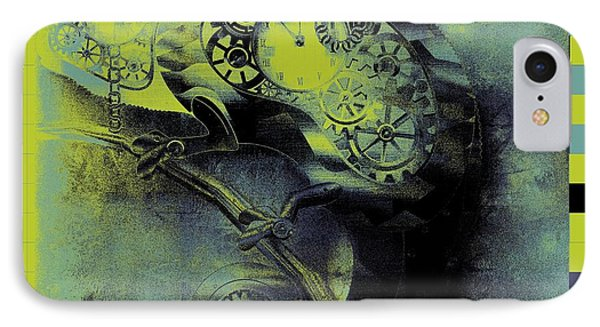 Chameleon - Lime - 01b02 Phone Case by Variance Collections