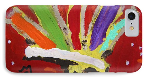 My Colorful Brush IPhone Case by Mary Carol Williams