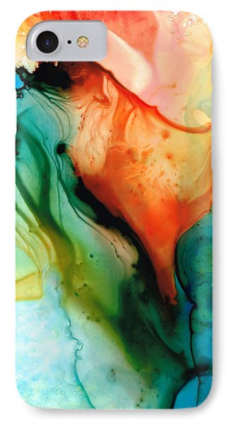 My Cup Runneth Over - Abstract Art By Sharon Cummings IPhone Case by Sharon Cummings