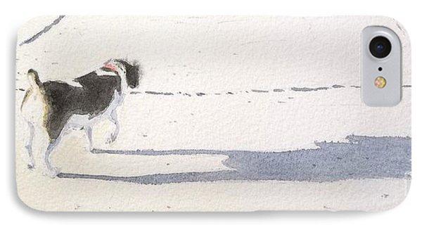 My Dog IPhone Case by Yoshiko Mishina