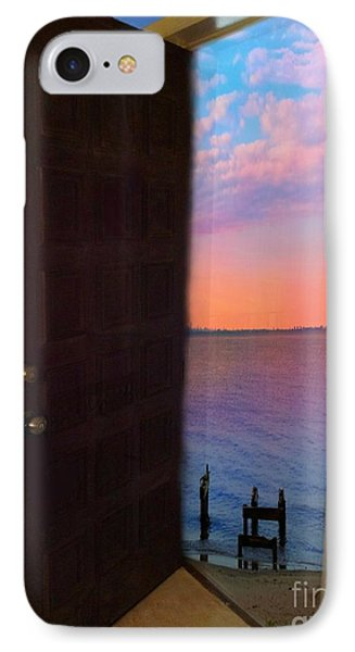 My Door To Success IPhone Case by Becky Lupe